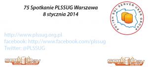 75 Spotkanie PLSSUG Warszawa